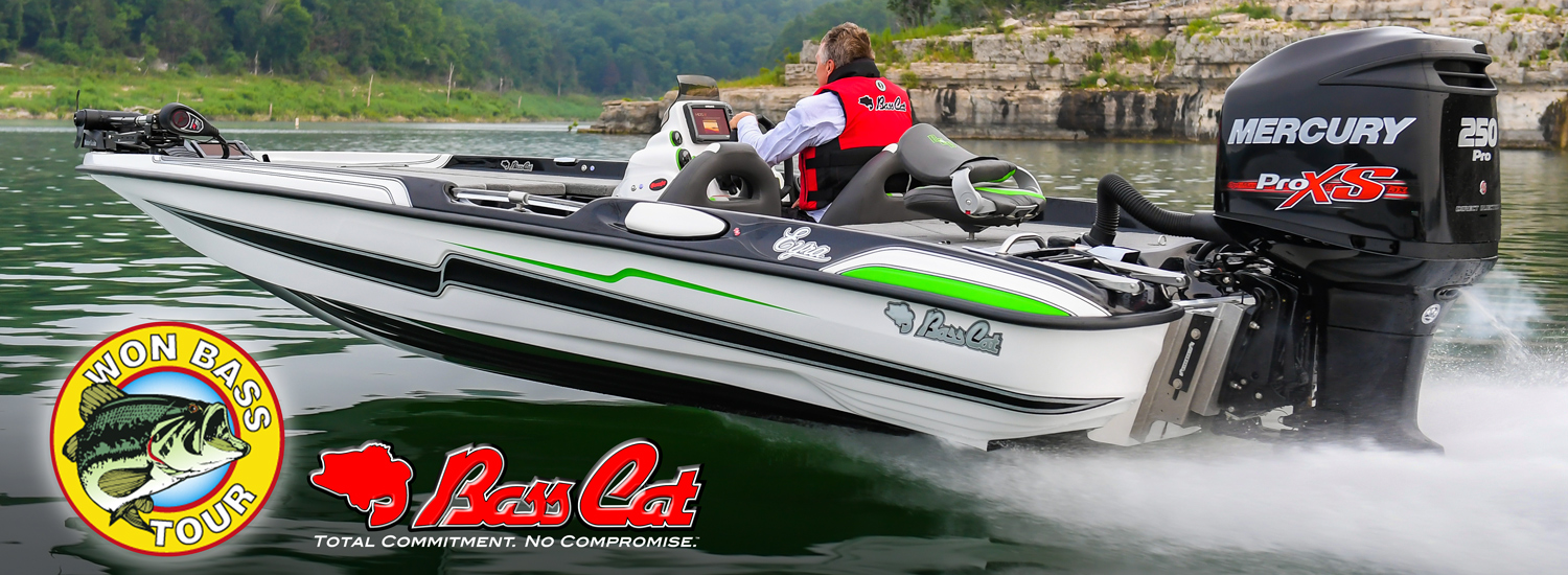 BASS CAT NAMED EXCLUSIVE BOAT SPONSOR FOR 2017 WON BASS TOUR