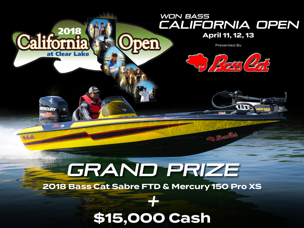 WON Bass California Open | Bass Cat Boats