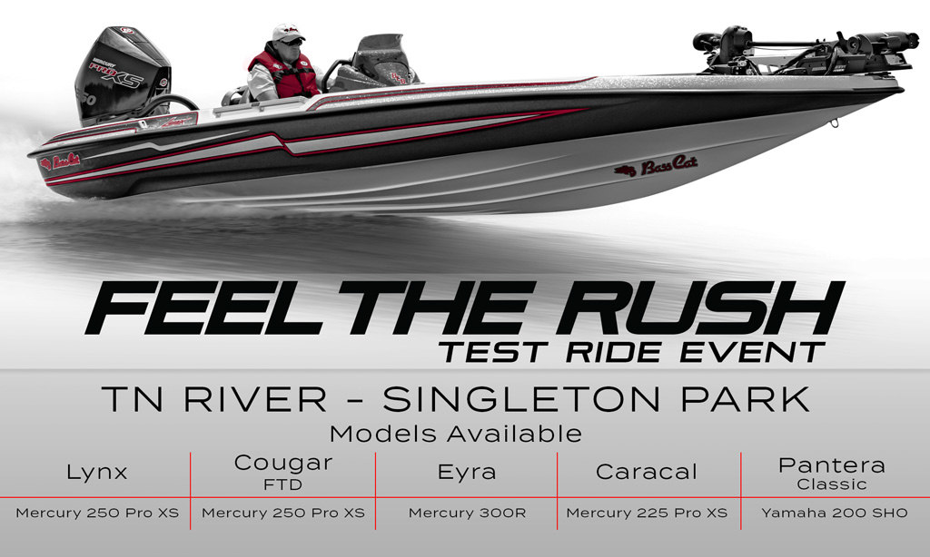 Test Ride Event - Knoxville, TN | Bass Cat Boats